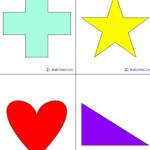Teach Shapes To Kindergarten and Activities Worksheets